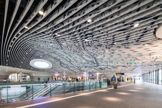 Delft City Hall and Train Station building by Mecanoo architecten