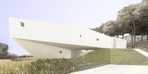 Dortoir Familial Ramatuelle house design by French Architect office