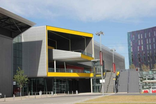 London ExCeL building facade
