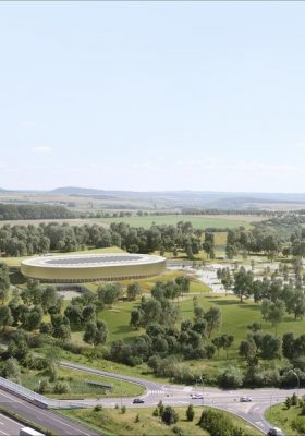 First Velodrome in Luxembourg