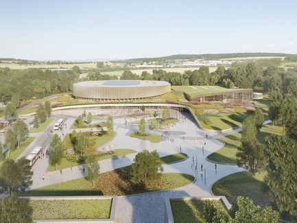 First Velodrome Luxembourg Architecture News