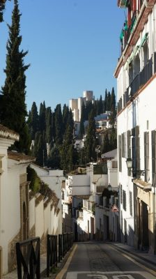 Granada traditional houses