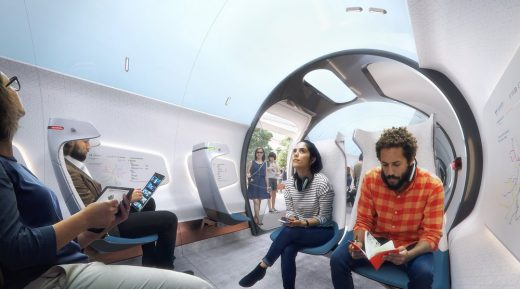 Hardt Hyperloop design by UNStudio