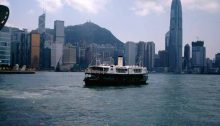 Hong Kong Architects Victoria Harbour boat