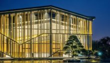 Impression Nanxi River Multifunctional Hall building in China
