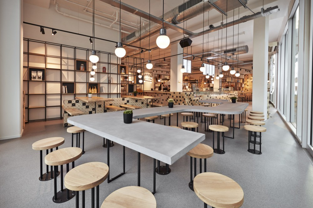 Lebkov sons caf in amsterdam e architect for Product design jobs amsterdam
