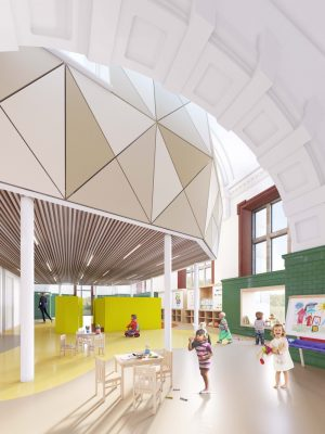 Lister Drive Library, Liverpool, Tuebrook building design