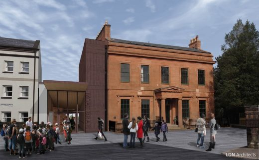 Moat Brae House Dumfries building design