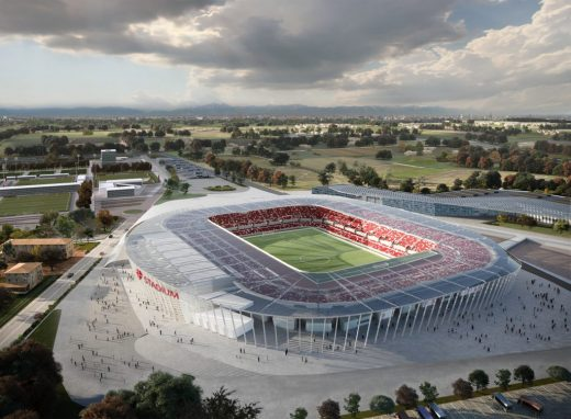 New Padova Stadium Building design in Italy