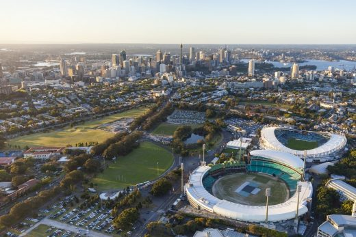 New Moore Park Stadium in Sydney