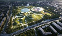 Quzhou Sports Campus in Zhejiang Province