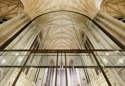 St. Patrick's Cathedral New York City building interior