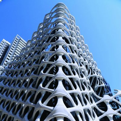 Arachne 3D Printed Building Facade in China