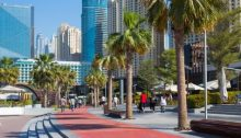 The Beach at JBR - favorite Dubai outdoor area