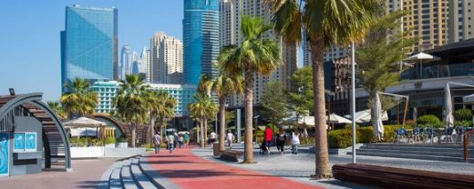 The Beach at JBR – favorite Dubai outdoor area