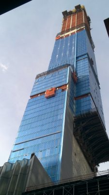 Central Park Tower Building New York construction progress