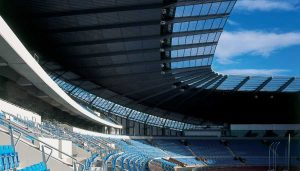Etihad Stadium Manchester City Football Ground England