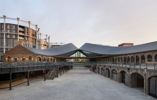 Coal Drops Yard in Kings Cross, LFA