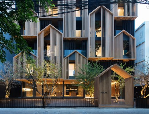 Hachi Serviced Apartment in Chatuchak District Bangkok Architecture News