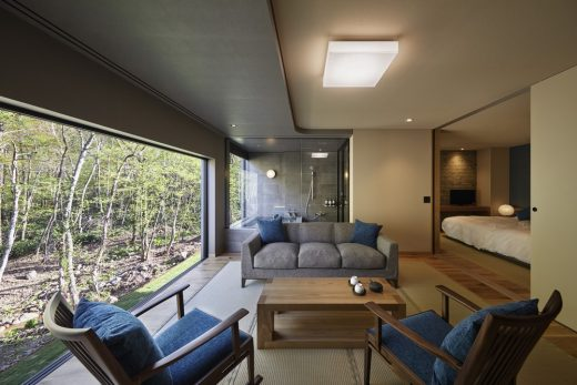 Luxury Accommodation Building in Japan