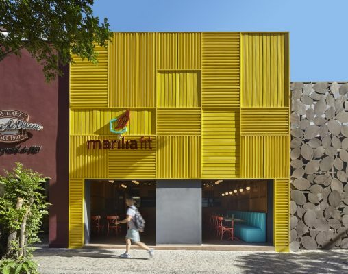 Marilia Fit Cafe in Belo Horizonte - Brazilian architecture news