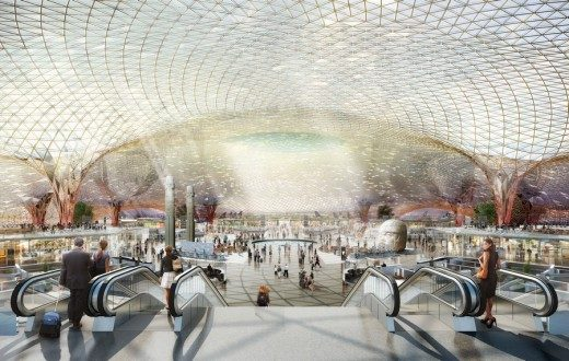 Mexico City New International Airport by Foster + Partners and FR-EE Fernando Romero