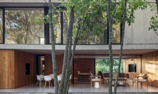 New residence in Argentina