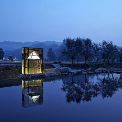 Mirrored Sight Shelter, Longli, Guizhou