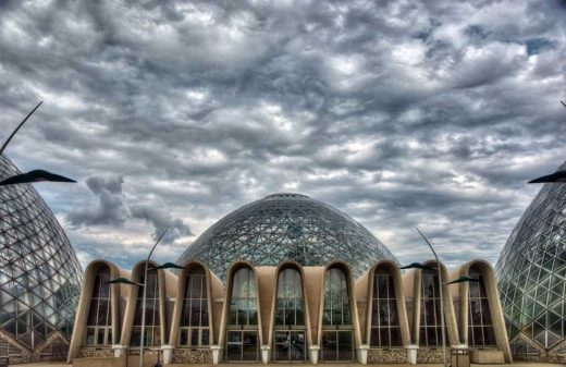 Mitchell Park Conservatory Domes,  Milwaukee