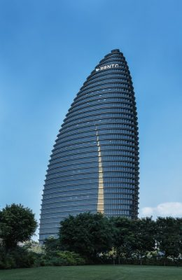 Taichung High-Rise Commercial Building Development design by Aedas Architects