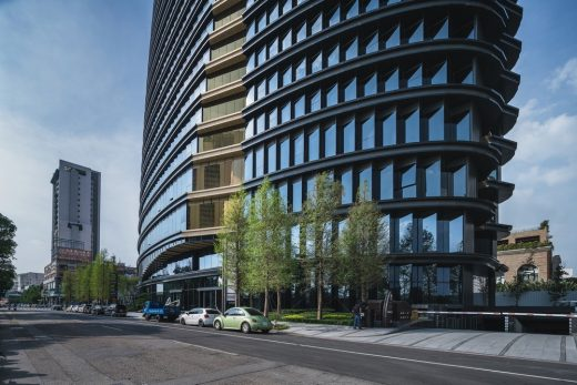 Taiwanese High-Rise Commercial Building Development – design by Aedas, Architects