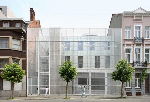 Schaarbeek Sports Hall Belgium Building