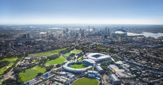 Sydney Football Stadium building design