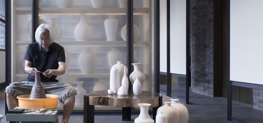 Pottery and Colored Glaze Workshop in Yuwang Mountain Town - Chinese Architecture News