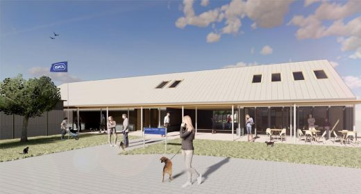 RSPCA Welfare Centre of the Future design by Nicholas Hare Architects