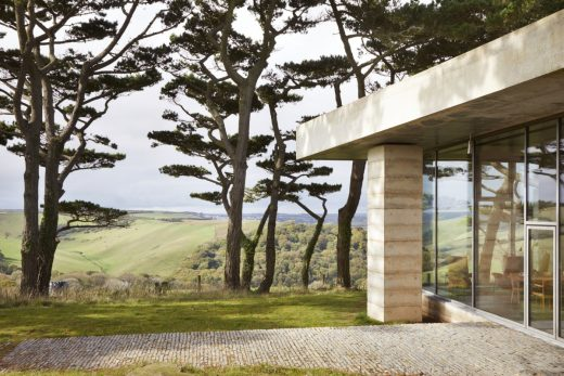 Secular Retreat Peter Zumthor home in Devon