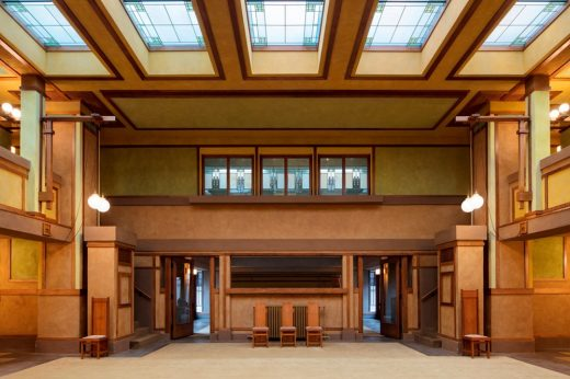 Frank Lloyd Wright's Unity Temple Oak Park, Illinois