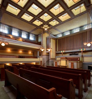Unity Temple Oak Park, Illinois by Frank Lloyd Wright Architect