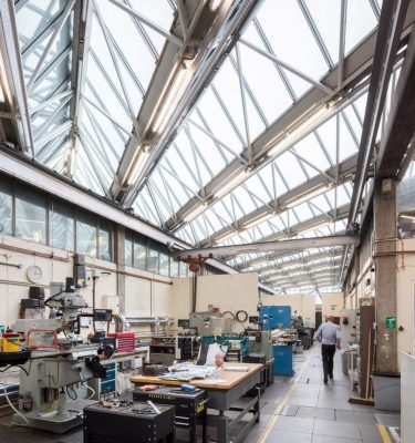 University of Leicester Engineering Building interior