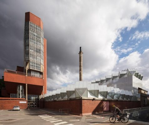University of Leicester Engineering Building tower and workshops