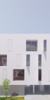 Social Housing in Ibiza building design