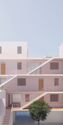 Social Housing in Ibiza building
