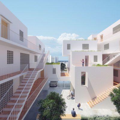 Ibiza Social Housing design