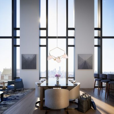 277 Fifth Avenue Tower, NoMad, NYC interior