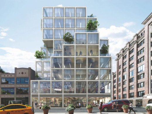 61 9th Avenue Meatpacking District building in Manhattan by Rafael Viñoly Architects