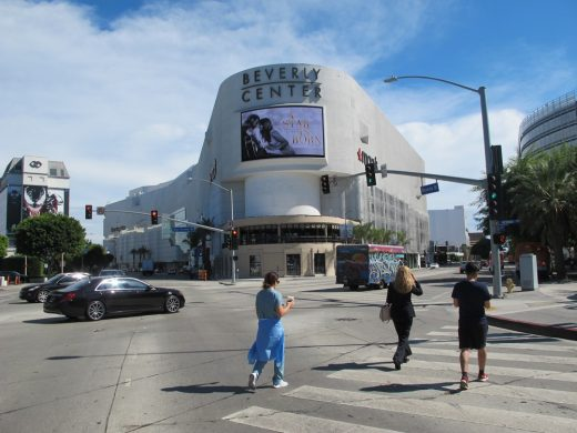 Beverly Center, Mall of the Stars in Los Angeles