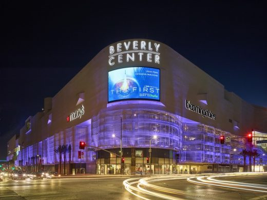 Beverly Center building Los Angeles