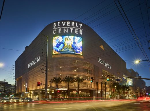 Beverly Center Los Angeles shopping mall