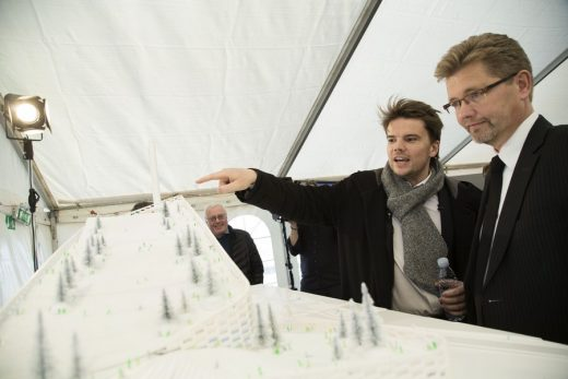 Bjarke Ingels & Lord Mayor of Copenhagen, Frank Jensen