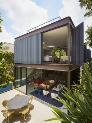 Box House in Sao Paulo